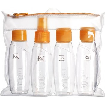 GO TRAVEL CABIN BOTTLE SET, ORANGE (658)