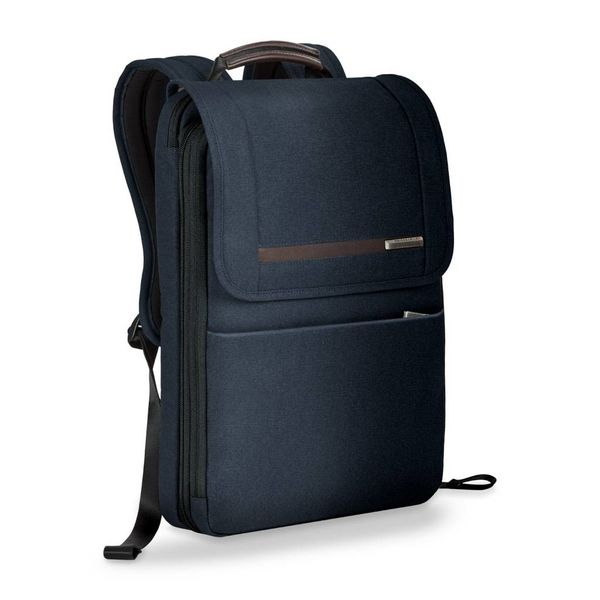 BRIGGS & RILEY KINZIE STREET FLAPOVER EXP BACKPACK (ZP165X)
