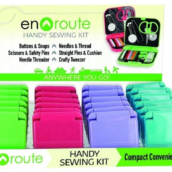 CANADIAN GIFT CONCEPTS ENROUTE SEWING KIT (ENR-SEW)