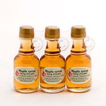 MAPLE SYRUP 3PK MINI JUG 40ml  (400538)