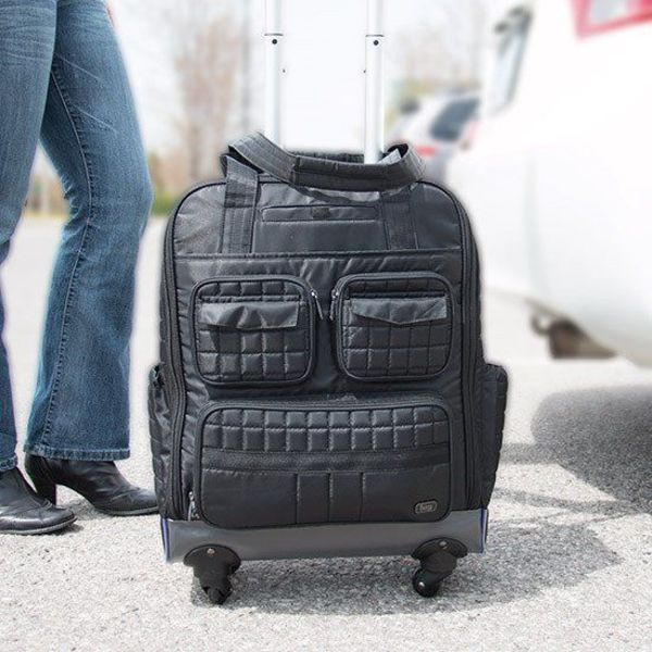 Lug Puddle Jumper Overnight Gym Bag On Wheels