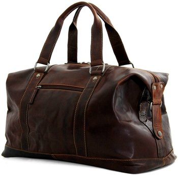 LEATHER DUFFEL/CARRY-ON BAGS