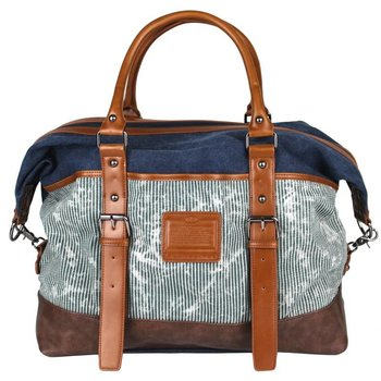 LICENCE 71195 JUMPER II CANVAS OVERNIGHT BAG (LBF10862)
