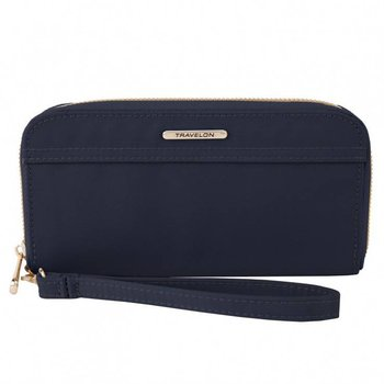 TRAVELON TAILORED CLUTCH WALLET (43204)
