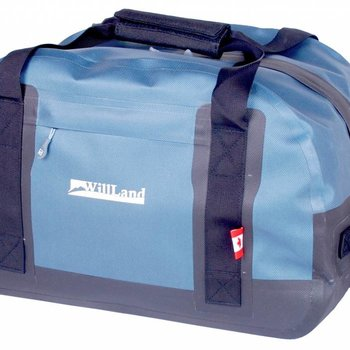 WILLLAND OUTDOORS 35 L WATERPROOF DUFFEL BAG, BLUE (WB60754)
