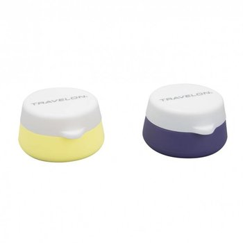 TRAVELON SET OF 2 SILICONE TRAVEL JARS (13252)