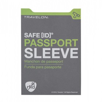 TRAVELON RFID BLOCKING PASSPORT SLEEVE (12720)