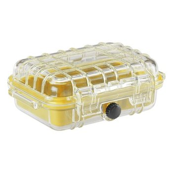 Lewis N. Clark WATERPROOF HARD CASE, SMALL, YELLOW (1370)