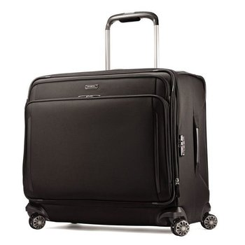 SAMSONITE SILHOUETTE XV GLIDER LARGE EXPANDABLE BLACK (78594)