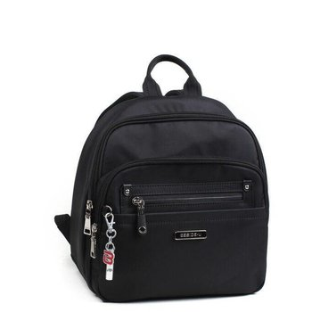 BESIDE U BALBOA NUTOPIA LEATHER TRIM BACKPACK (BNUL21A)