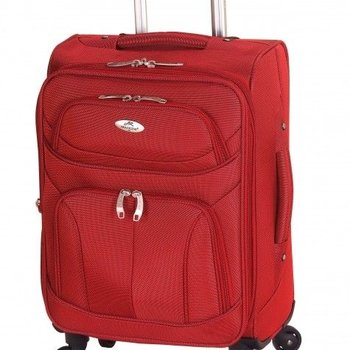 """MANCINI FEATHERLITE 20"""" SPINNER CARRY-ON (L610-20)"""