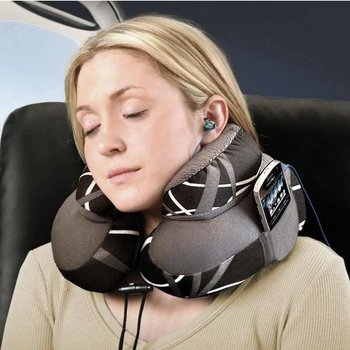 EVOLUTION MICROBEAD TRAVEL PILLOW, SWERVE