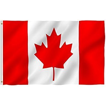 "FLAG MATRIX INC. CANADA FLAG 36"" X 72"" (39560)"