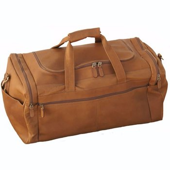 MOSAIC DORADO LEATHER DUFFEL (765-538-TN)