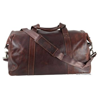 """MOSAIC CLASSICO 22"""" LEATHER DUFFEL (668-1307-BY)"""