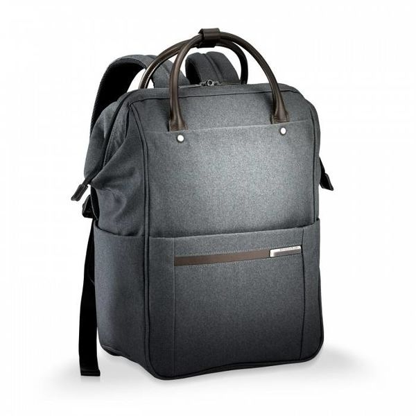 BRIGGS & RILEY KINZIE STREET FRAMED WIDE-MOUTH BACKPACK (ZP120)