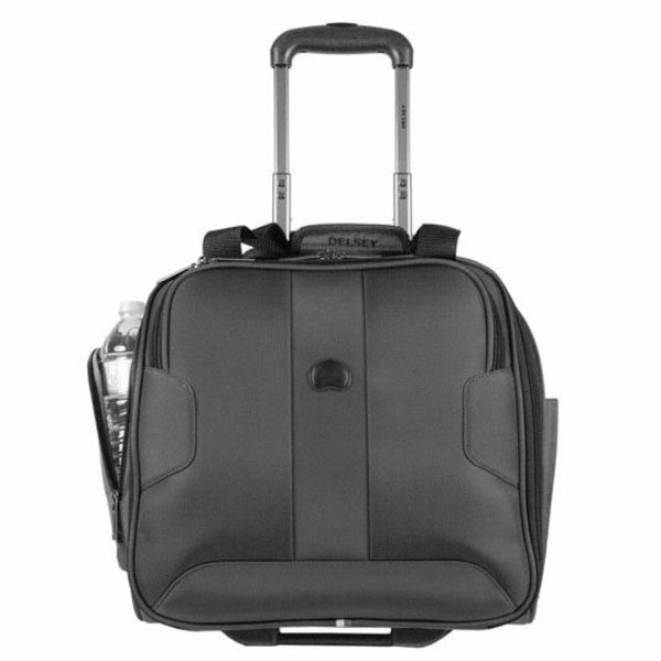 """Delsey VOLUME MAX 15"""" TROLLEY TOTE"""