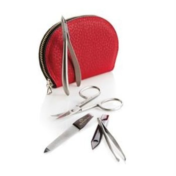 MOSAIC SOLINGEN GERMAN 5 PC MANICURE ZIP KIT (309-2801-RD)