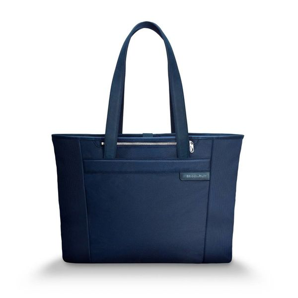 BRIGGS & RILEY LARGE SHOPPING TOTE, NAVY (255)