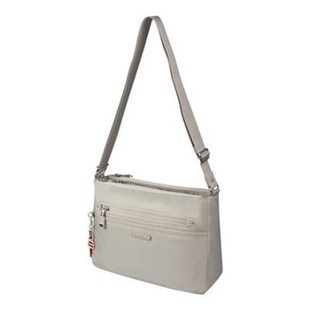 BESIDE U NUTOPIA LEATHER TRIM CHASKA CROSSBODY (BNUT102)