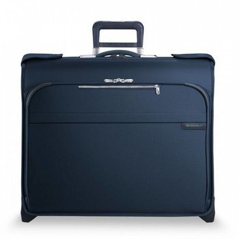 BRIGGS & RILEY BASELINE DELUXE WHEELED GARMENT BAG, NAVY (U176-5)