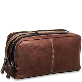 Jack Georges VOYAGER TOILETRY BAG, BROWN (7220)