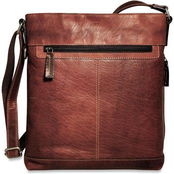 Jack Georges VOYAGER CROSSBODY, BROWN (7312)