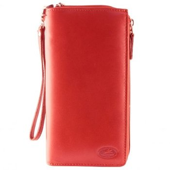 MANCINI RFID LADIES SUPER CLUTCH WALLET WITH WRIST STRAP