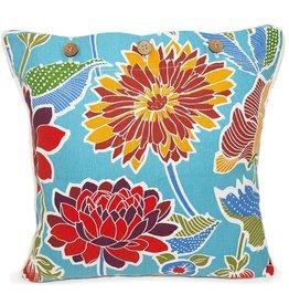 Delphia Blue Cushion Cover