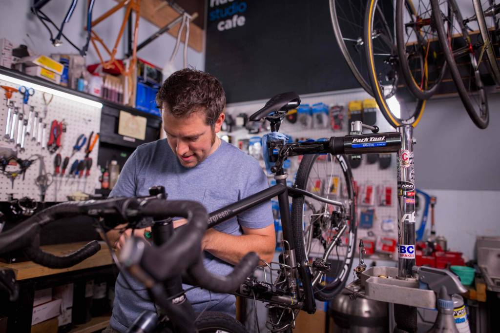 Ride Studio Cafe Voucher for One Year of Pro Mechanic Service for All of Your Bikes