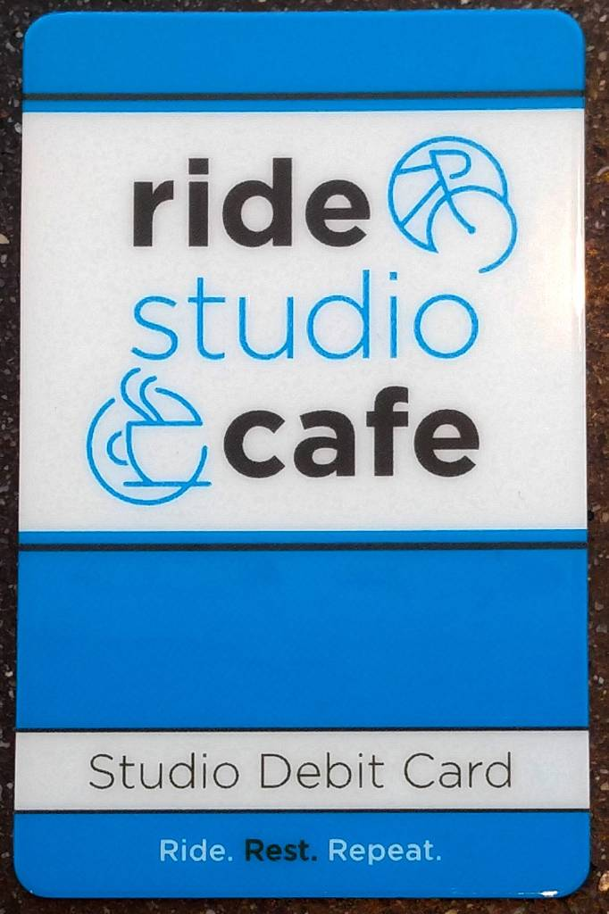 Ride Studio Cafe Ride Studio Cafe Gift Card - $1,000