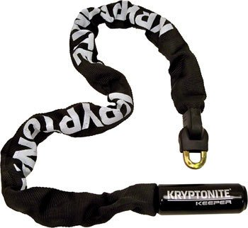 Kryptonite Keeper 785 Integrated Chain Lock Black