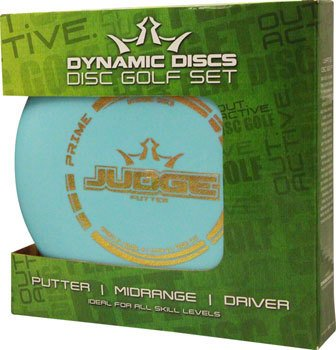 Dynamic Discs Prime Starter Disc Golf Set: Assorted Colors