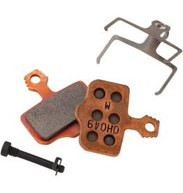 Avid/ SRAM Elixir and DB Disc Brake Pads Metal Sintered, Steel Back 1 Set
