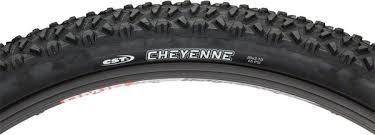CST Cheyenne MTB Tire: 26x2.10 Black Steel Bead Black