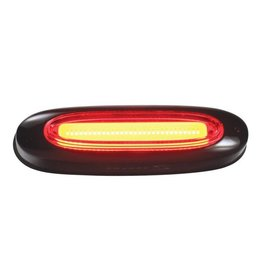 Serfas Serfas Quasar Red Strip Taillight Black