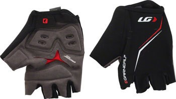 Louis Garneau Louis Garneau Blast Men's Glove: Black/Red 2XL