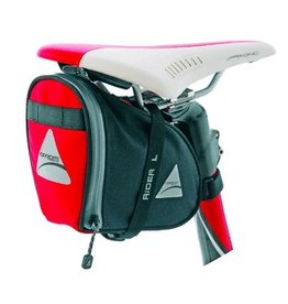 Axiom Axiom Seat Bags Rider Deluxe Red/Black LG