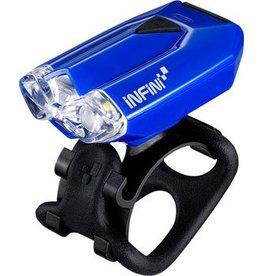 Infini Lava USB Rechargeable Headlight: Blue