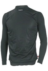 Craft Craft Active Wind Stopper Long Sleeve Crew Base Layer Top: Black LG