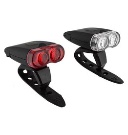 Sunlite Front and Rear USB Rechargeable Light Set