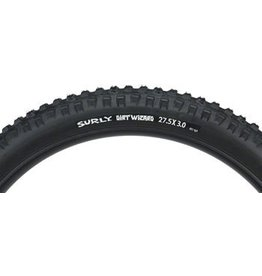 "Surly Surly Dirt Wizard Tire: 27.5+ x 3.0"" 60 tpi, Black"