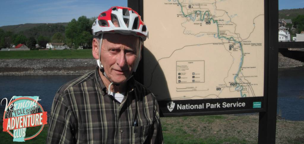 Bicycling the C and O Canal with George Plumb and Lance Polya