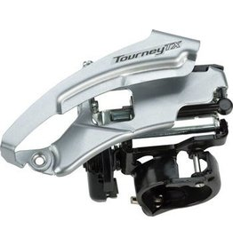 Shimano Shimano Tourney TX800 7/8-Speed Triple Top-Swing Dual-Pull Front Derailleur