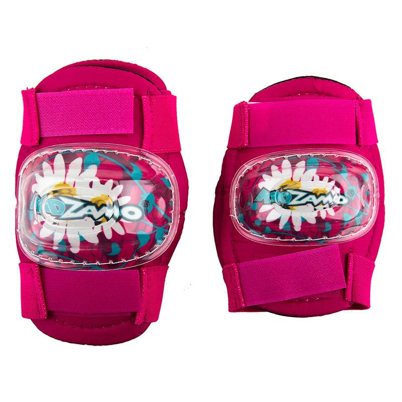 KIDZAMO Pad Set Kidzamo Elbow/knee Daisy Pad Set