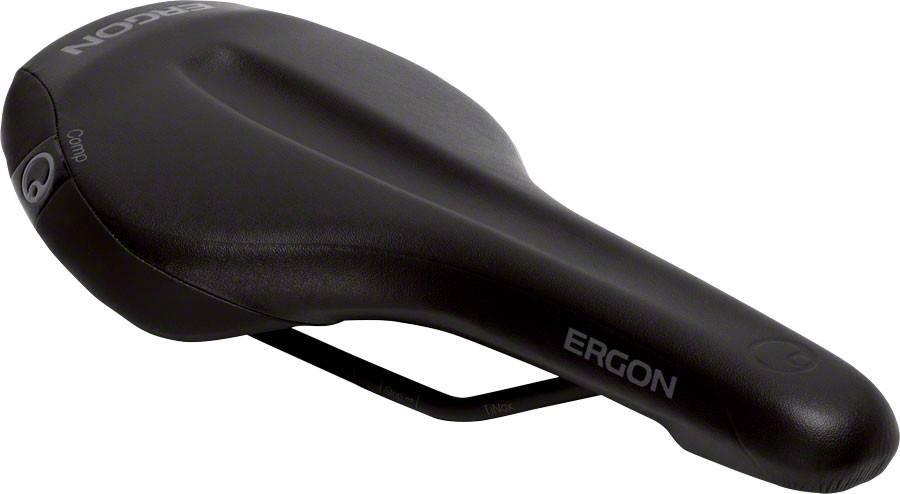 Ergon Ergon SMA3-M Comp Saddle: Medium, Stealth
