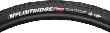 Kenda Kenda Flintridge Pro Gravel Tire: 700 x 35 DTC KSCT 120 TPI Folding Bead Black