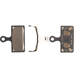 Shimano Shimano G04S Metal Disc Brake Pad and Spring for XTR M9020 M985, XT M8000 M785, SLX M675 M666, Road R517, Alfine S700, Deore M615 Calipers