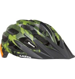 Lazer Lazer Magma Helmet: Matte Camo Flash Orange, SM