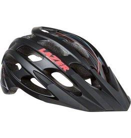 Lazer Lazer Jade Helmet: Black Swirls SM